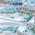 Flaine Resort Map