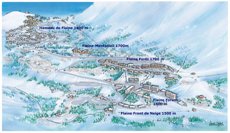 Flaine Ski Resort Experiences and Opinion