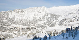 Flaine Resort View